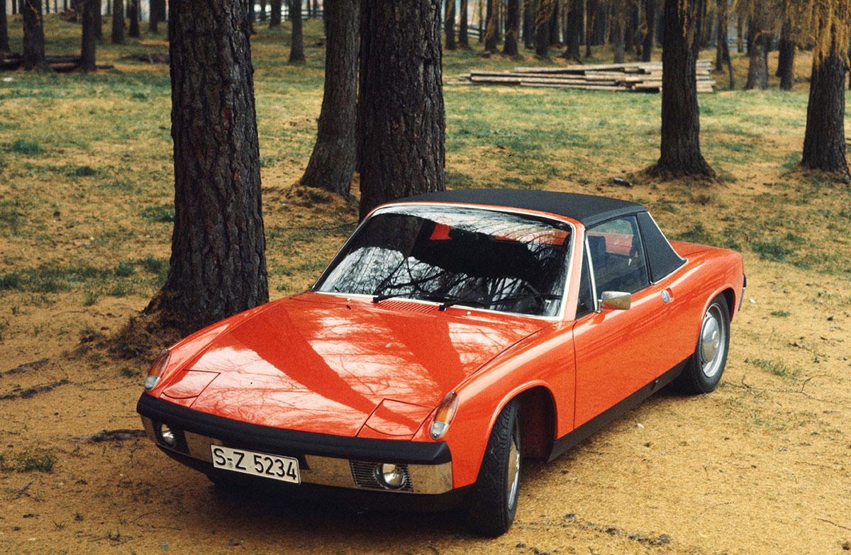 Porsche 914 Oldtimer aus den Import