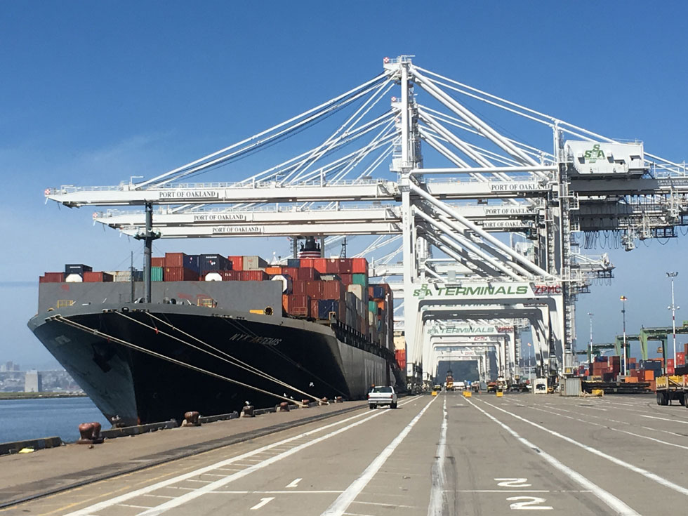 Port of Oakland Shipping Alliances 2017