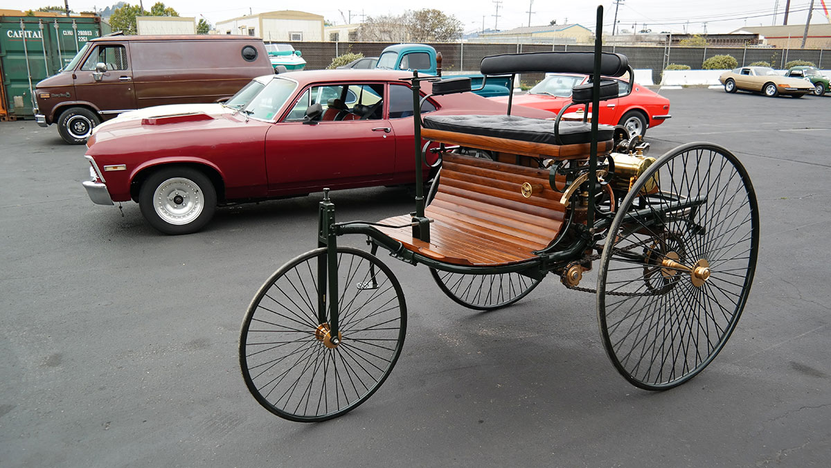 1886 Benz Patent-Motorwagen Replik auto import aus den usa