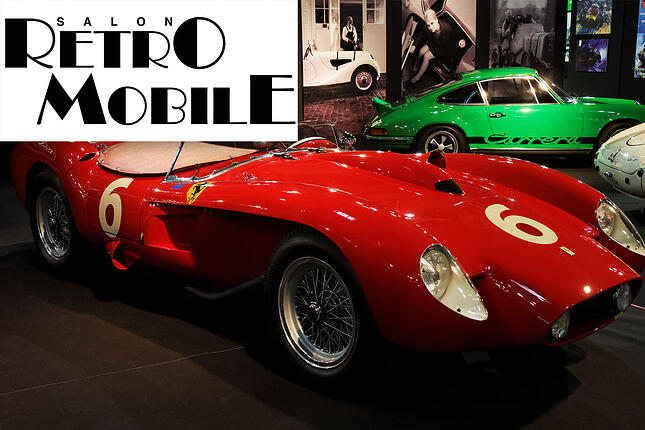 Retromobile 2017 International Car Shipping