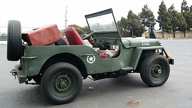 Willys Jeep California
