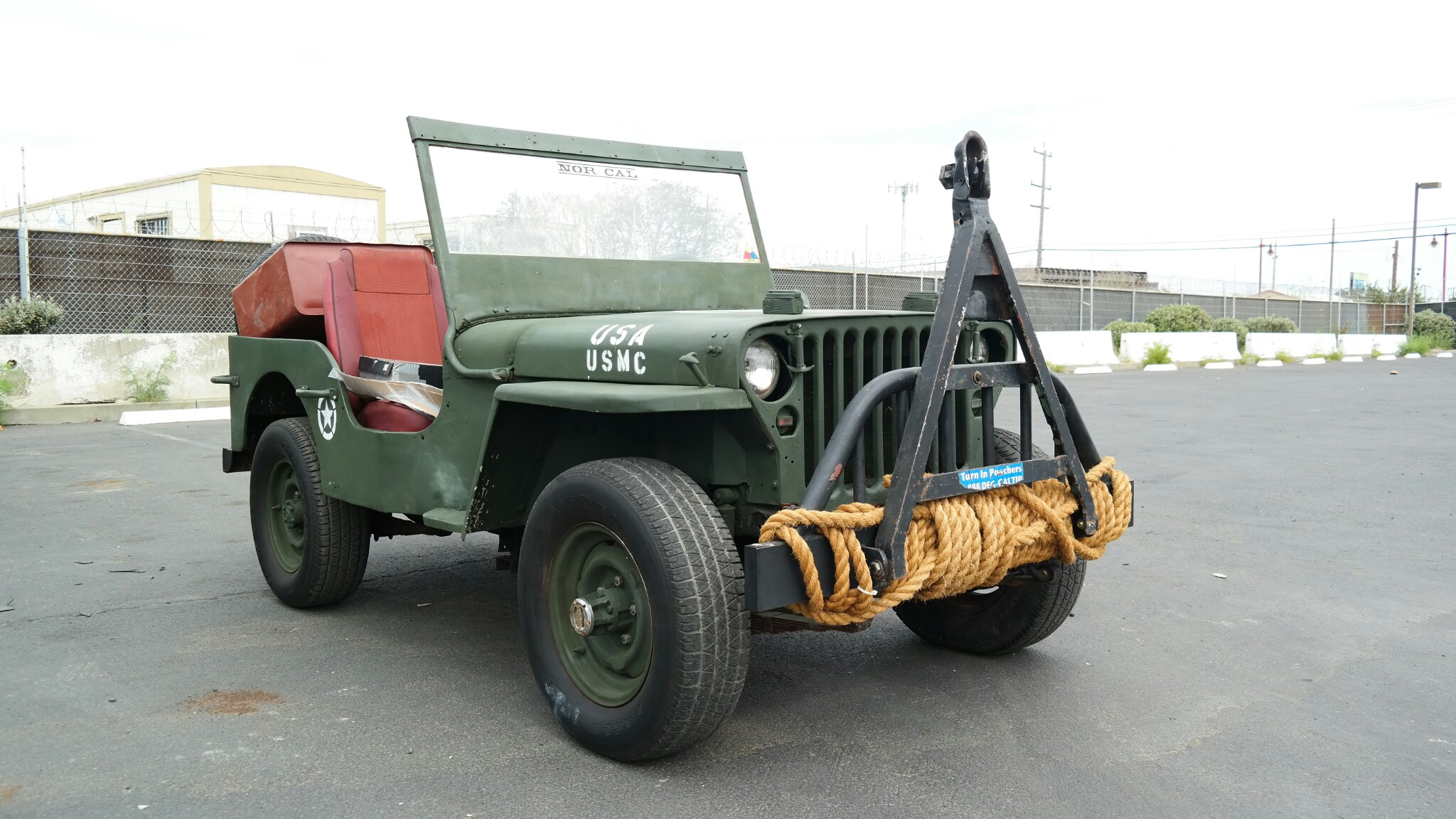 Willys Jeep from California