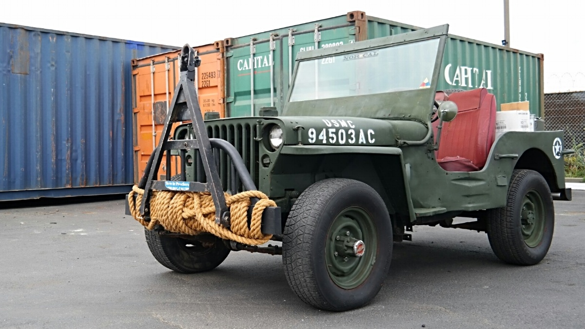 Willys Jeep from California to Europe