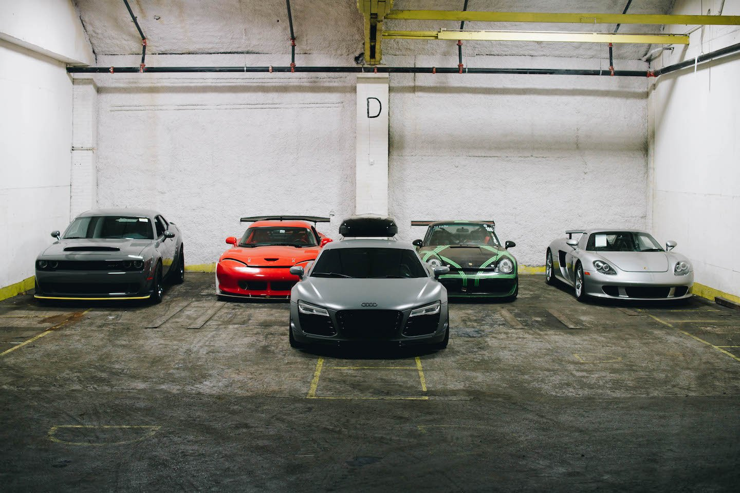 Nardo R8 shipping warehouse