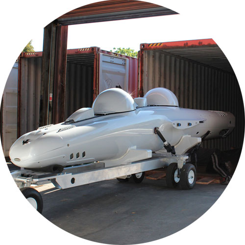 Deepflight Personal Submarine