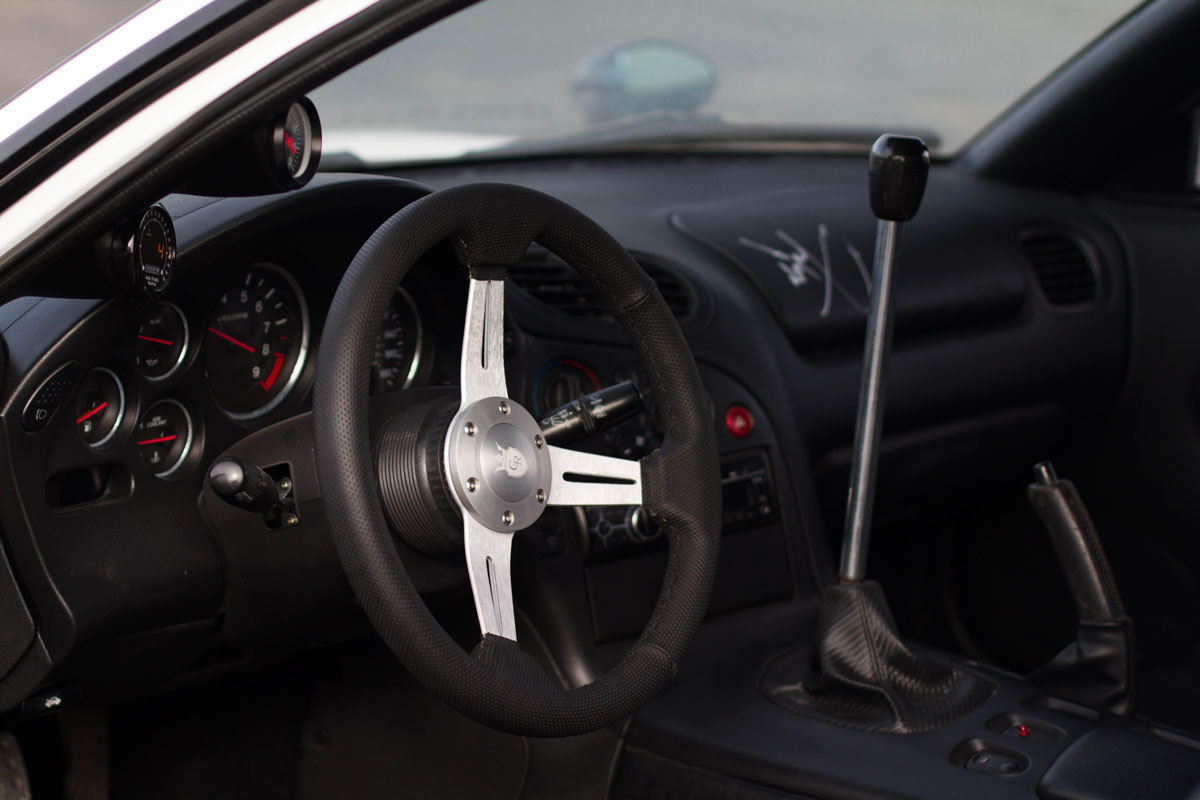 Mazda Rx7 Interior