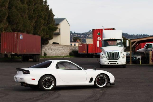 Big Ass Turbo: Mazda RX7