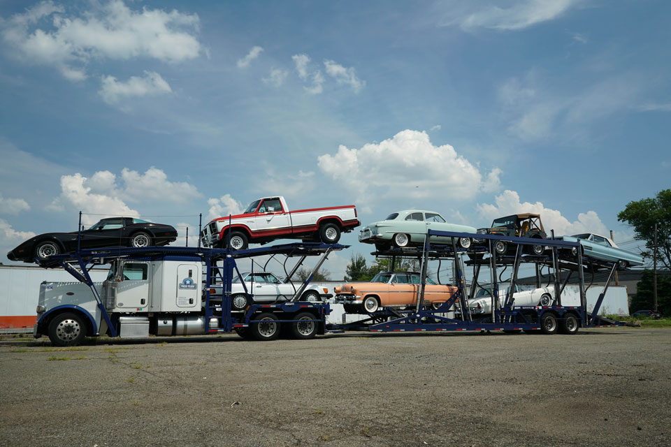 open car carrier