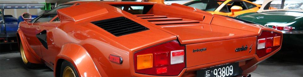 Lamborghini Countach Shipped Overseas