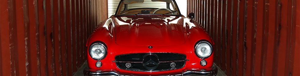 Mercedes 300SL Gullwing Shipped Overseas