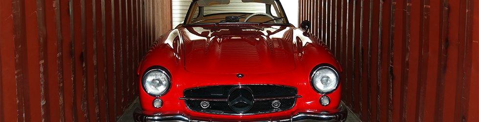 Mercedes 300SL Gullwing Shipped Overseas