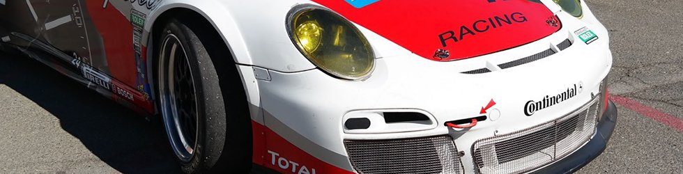 Porsche 911 Cup Car Shipped Overseas