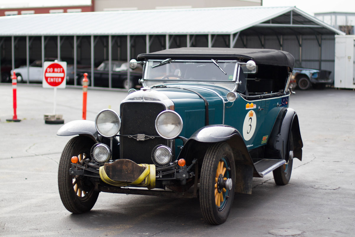 Ready For Another Rally in a 1929 Buick