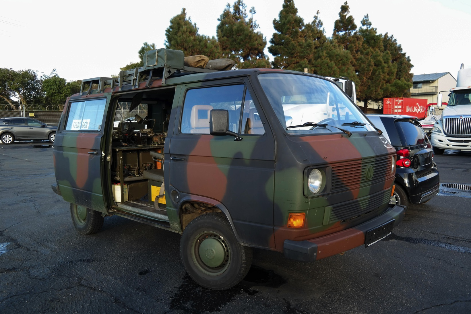 VW Vanagon's Incredible Journey from East Germany to California