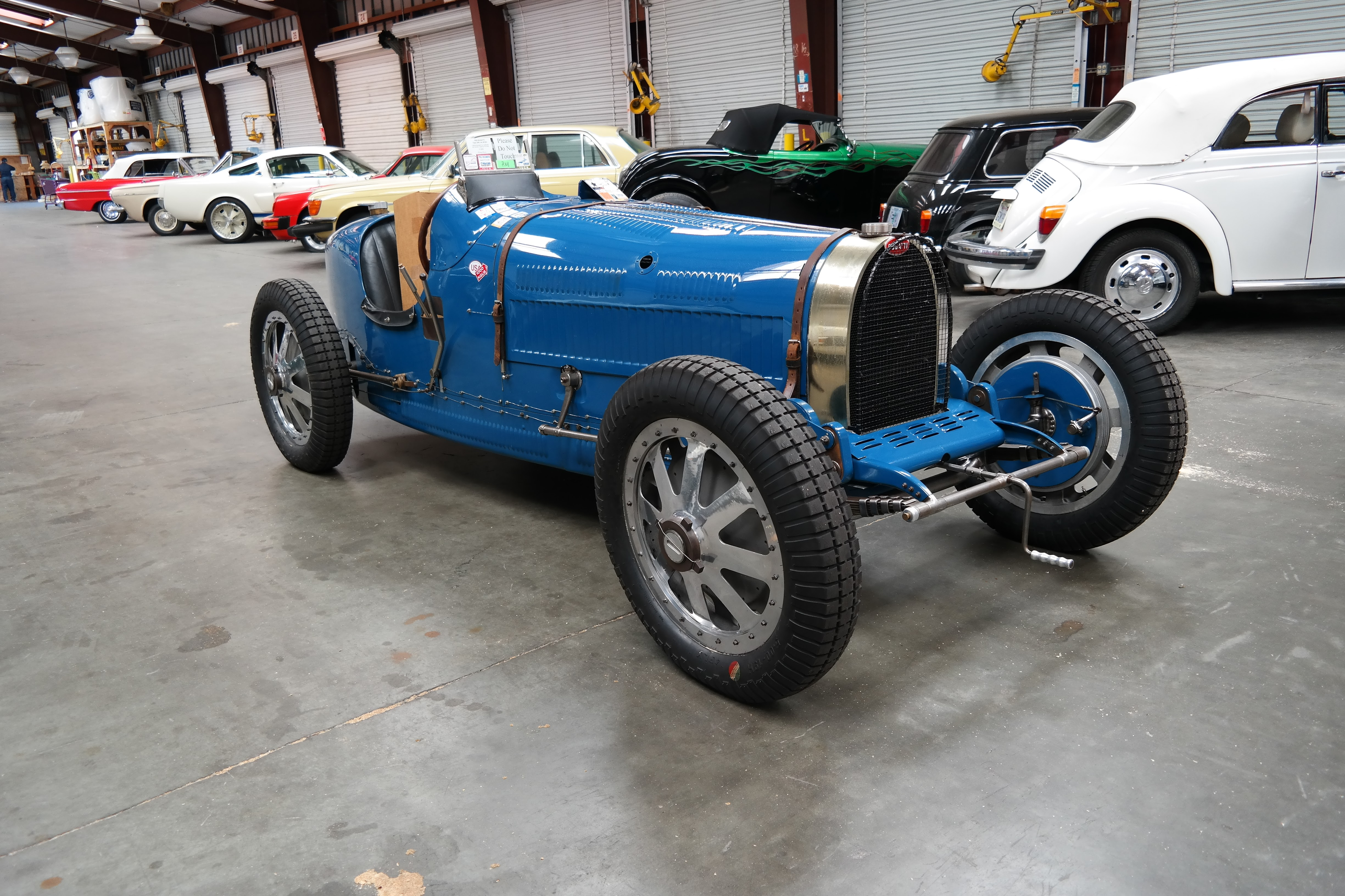 1928 Bugatti Type 35B from England to California and back