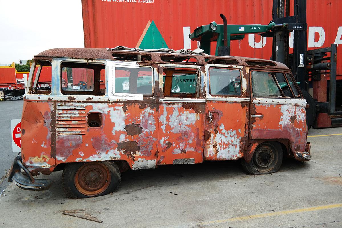 International Restoration: 23-window VW bus