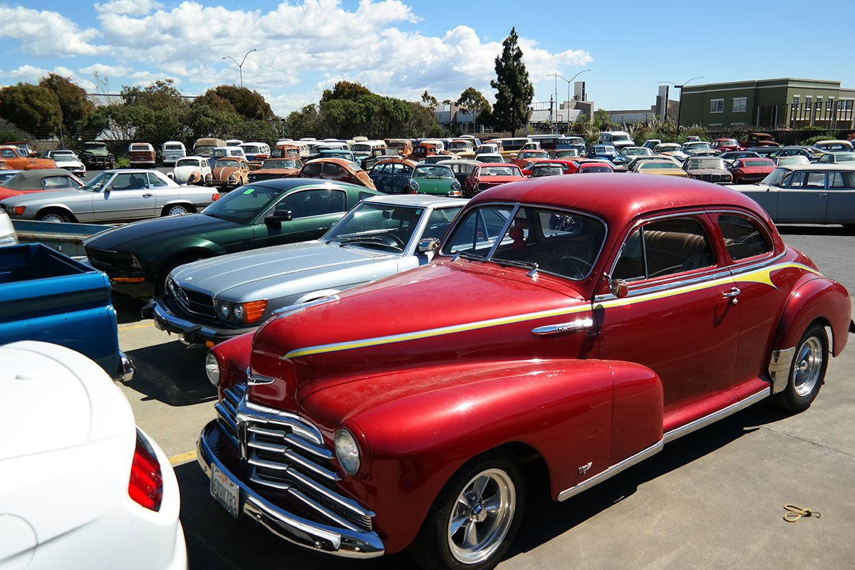 Which American classic cars are most popular overseas?