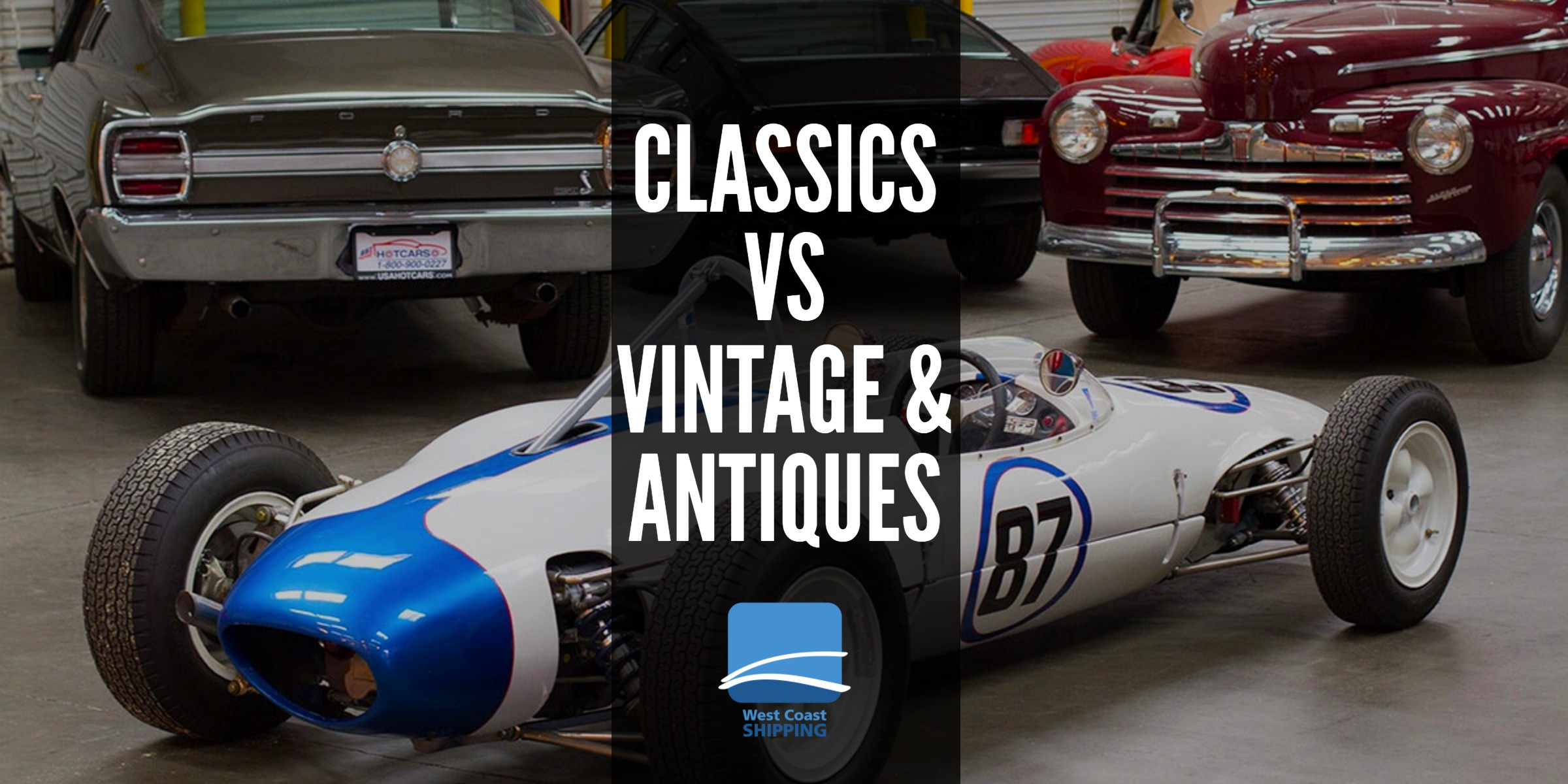 The difference between Classics, Vintage & Antique Cars