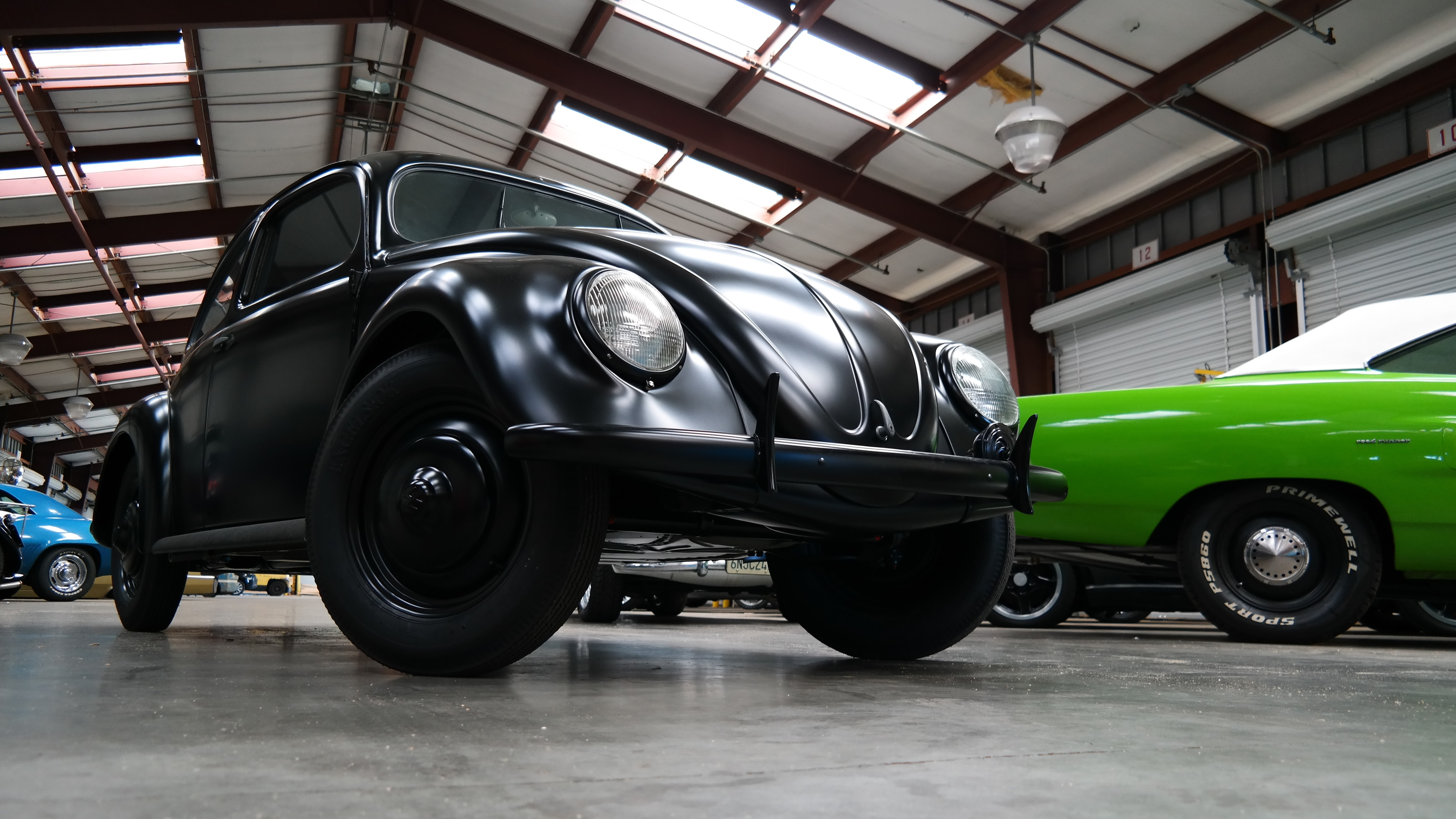 Custom VW Beetle Shipped to Europe
