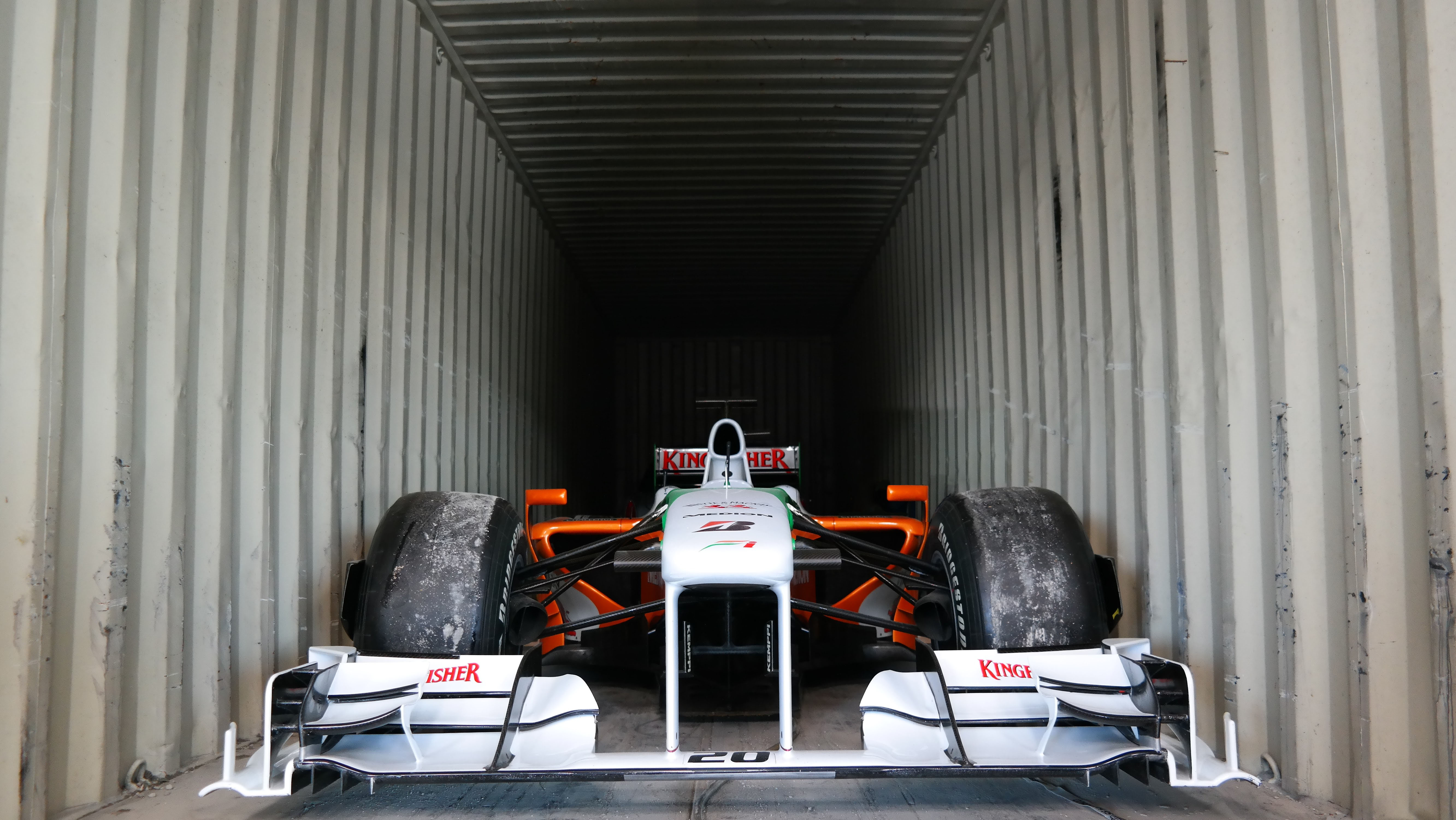 Shipping a Force India F1 car overseas