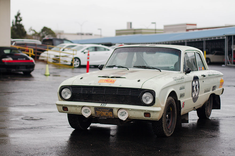 Ford Falcon from the Rally of the Incas