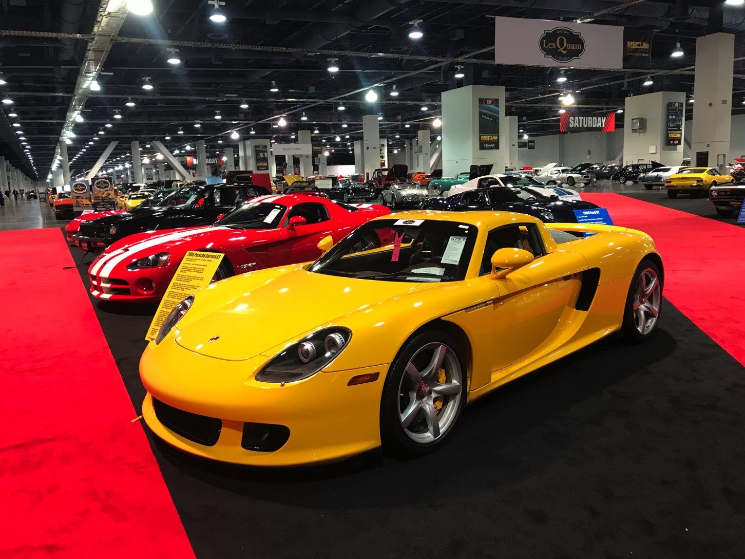 Mecum\'s First Las Vegas Auction Brings In $22 Million
