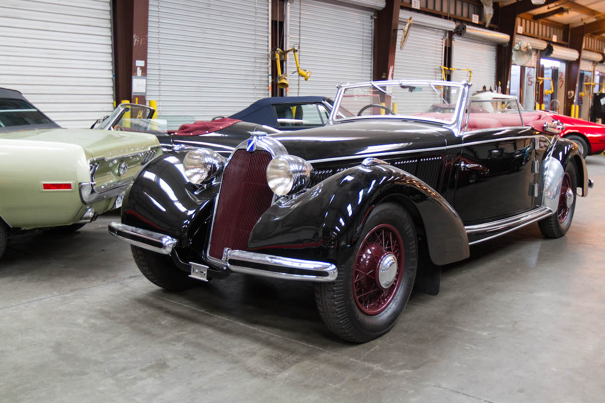 1939 Talbot-Lago T-23 imported to the states from Holland