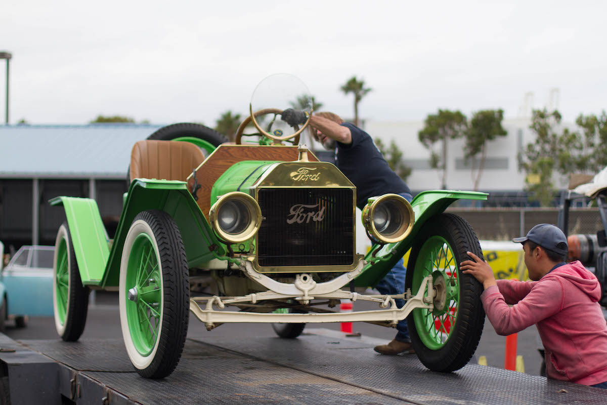 1919 Ford Speedster T to Rotterdam