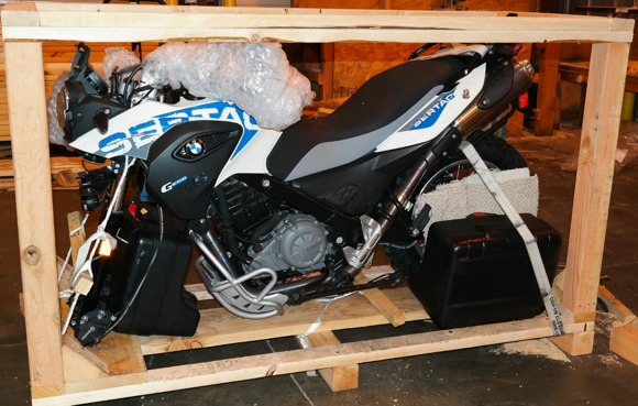 Shipping Motorcycles by Air Freight