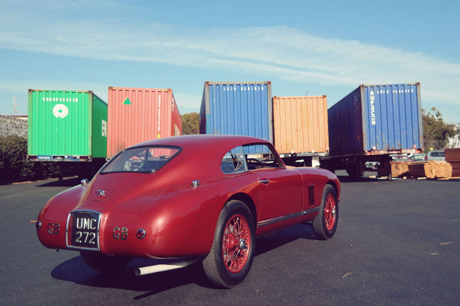 Classic car with heritage: David Brown's DB2