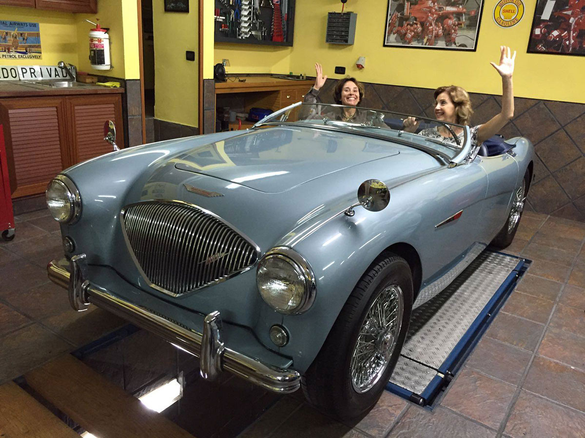 British sports car goes across the world to take part in legendary Mille Miglia race