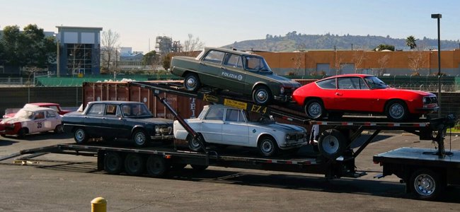 Classic car ground transportation rates