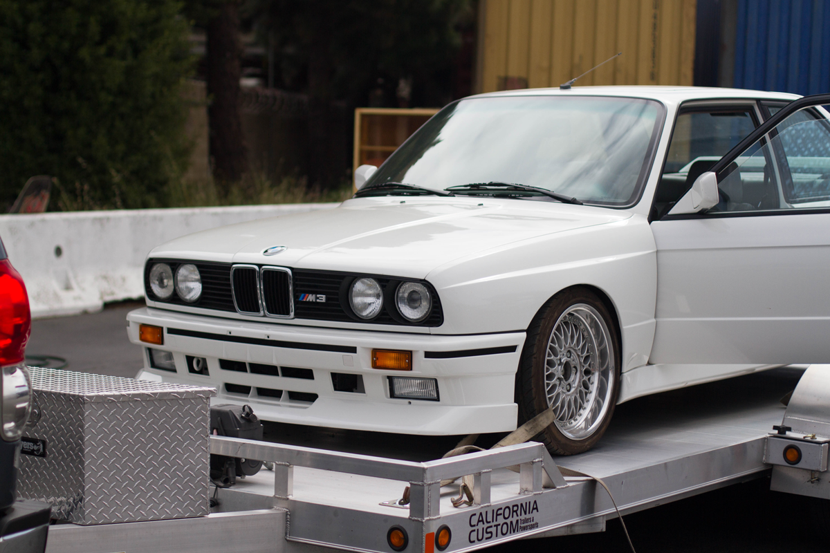 Clean Californian E30 BMW M3 is going home to Europe