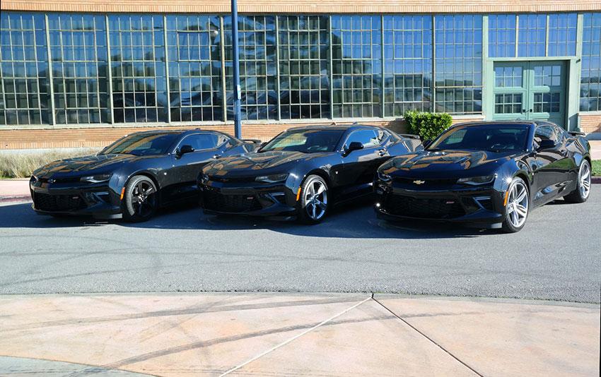 Camaro Exporte aus den USA