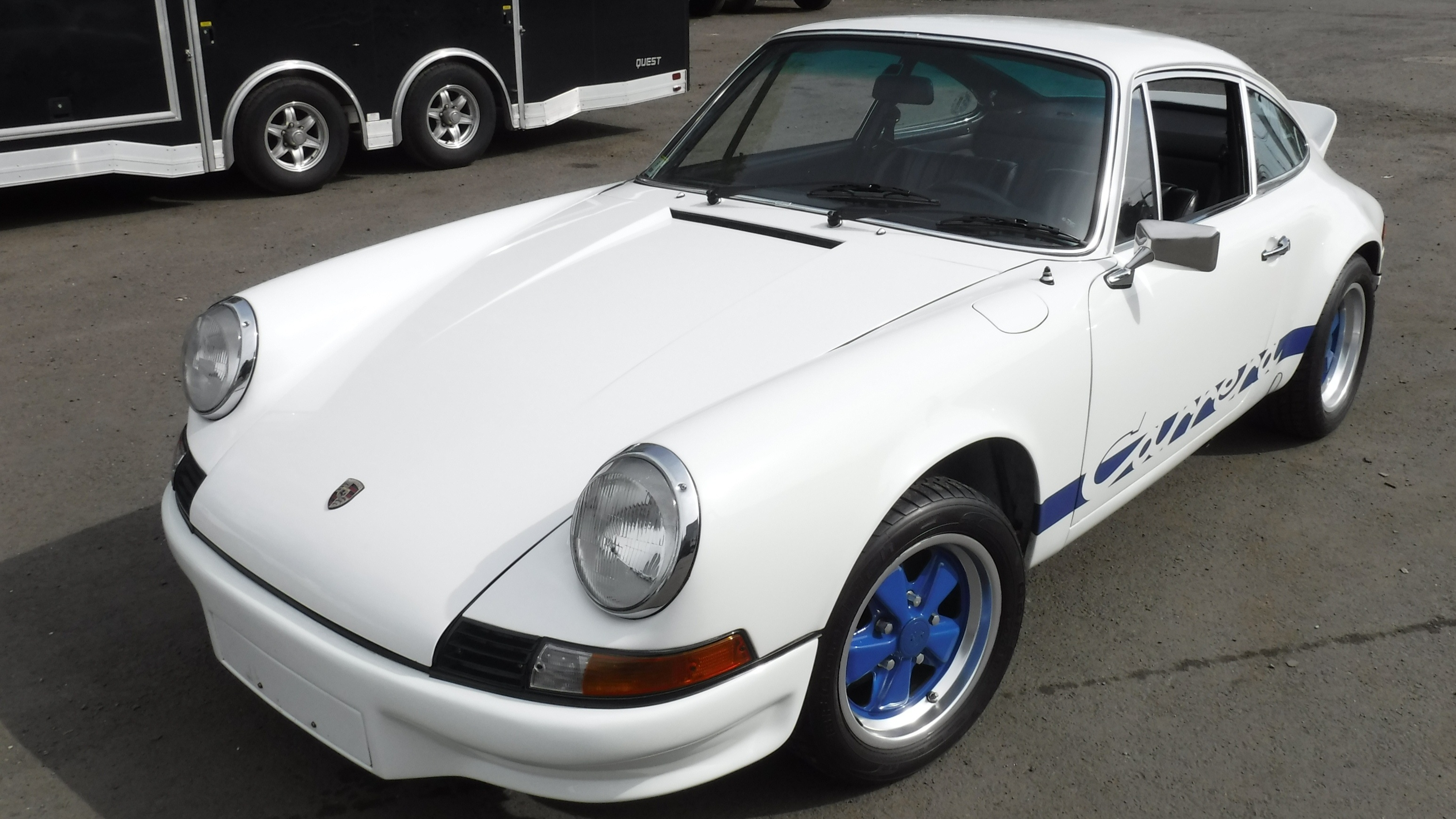 The 911 Carrera RS - an iconic German classic