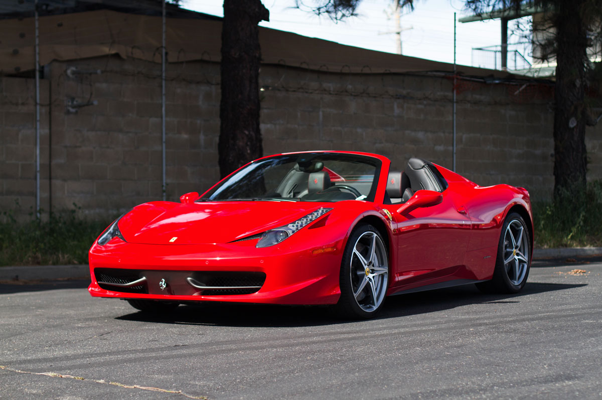 This Ferrari will soon be cruising along the Italian Riviera