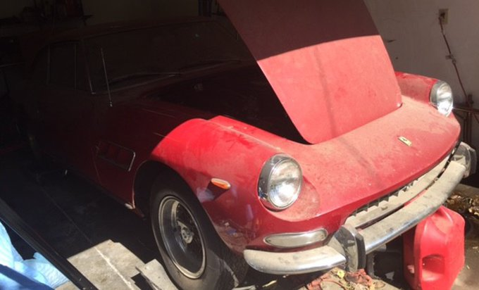 Exciting Classic Cars Shipped Overseas: 1966 Ferrari 330 GT 8245