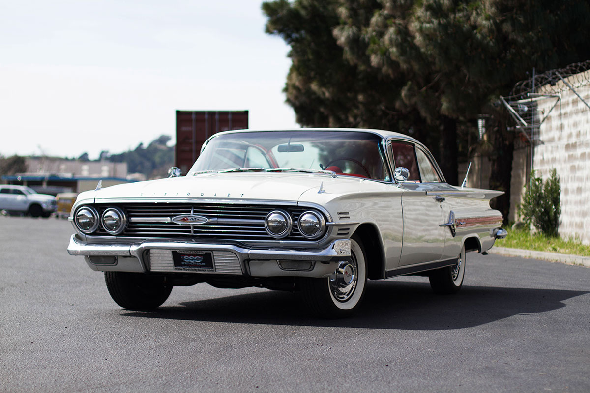 This Classic Chevy Impala is going overseas