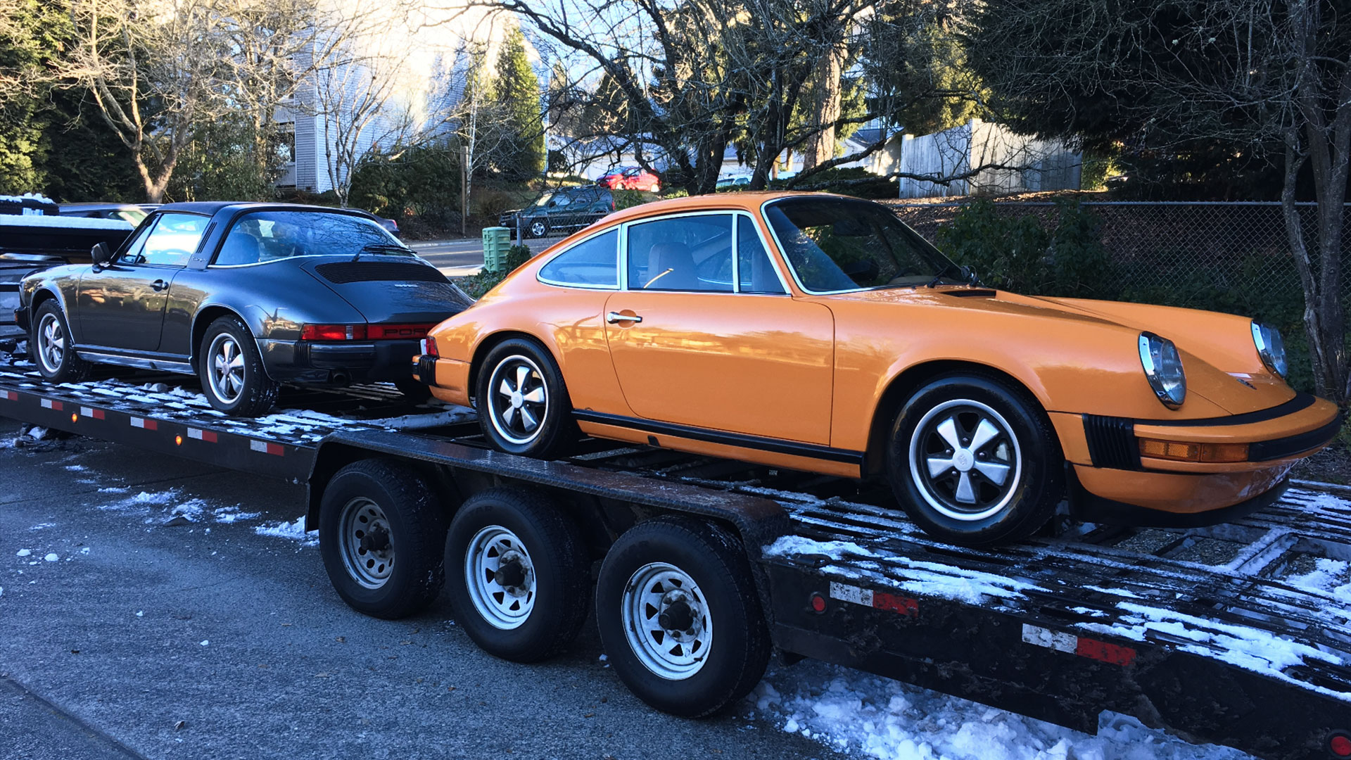A harsh winter for US Classic Cars