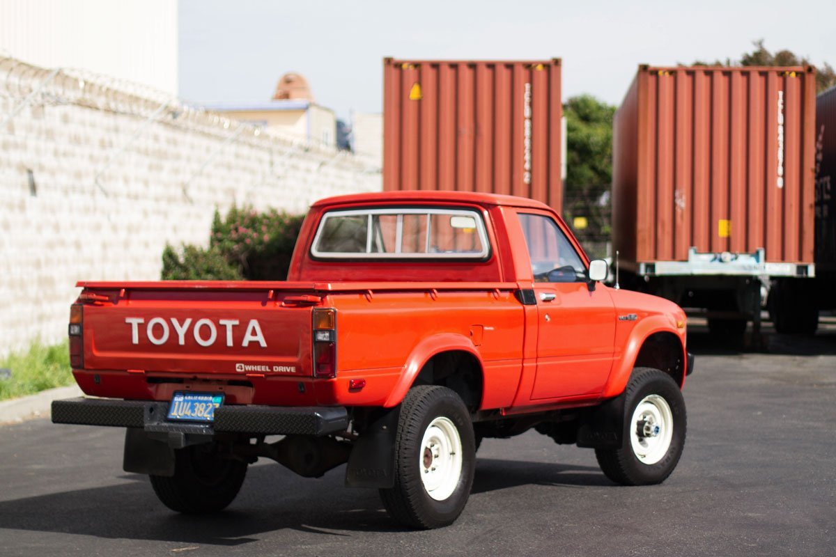 Classic Toyota Pickup Heading For Adventures Overseas