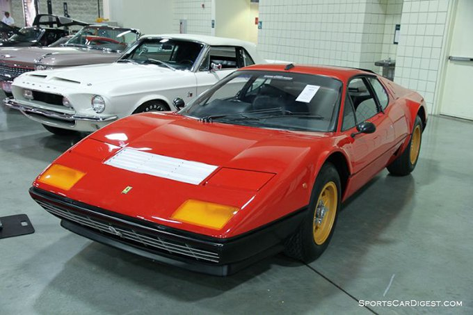 Ferrari 512bb International Car Shipping UK