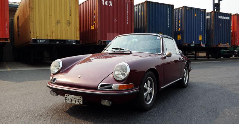 Porsche 911 Container