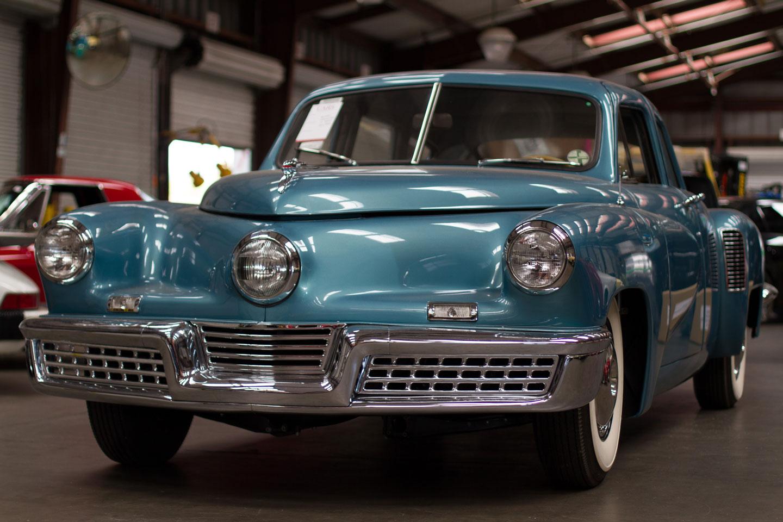 Tucker 48 Classic Car Shipping Overseas
