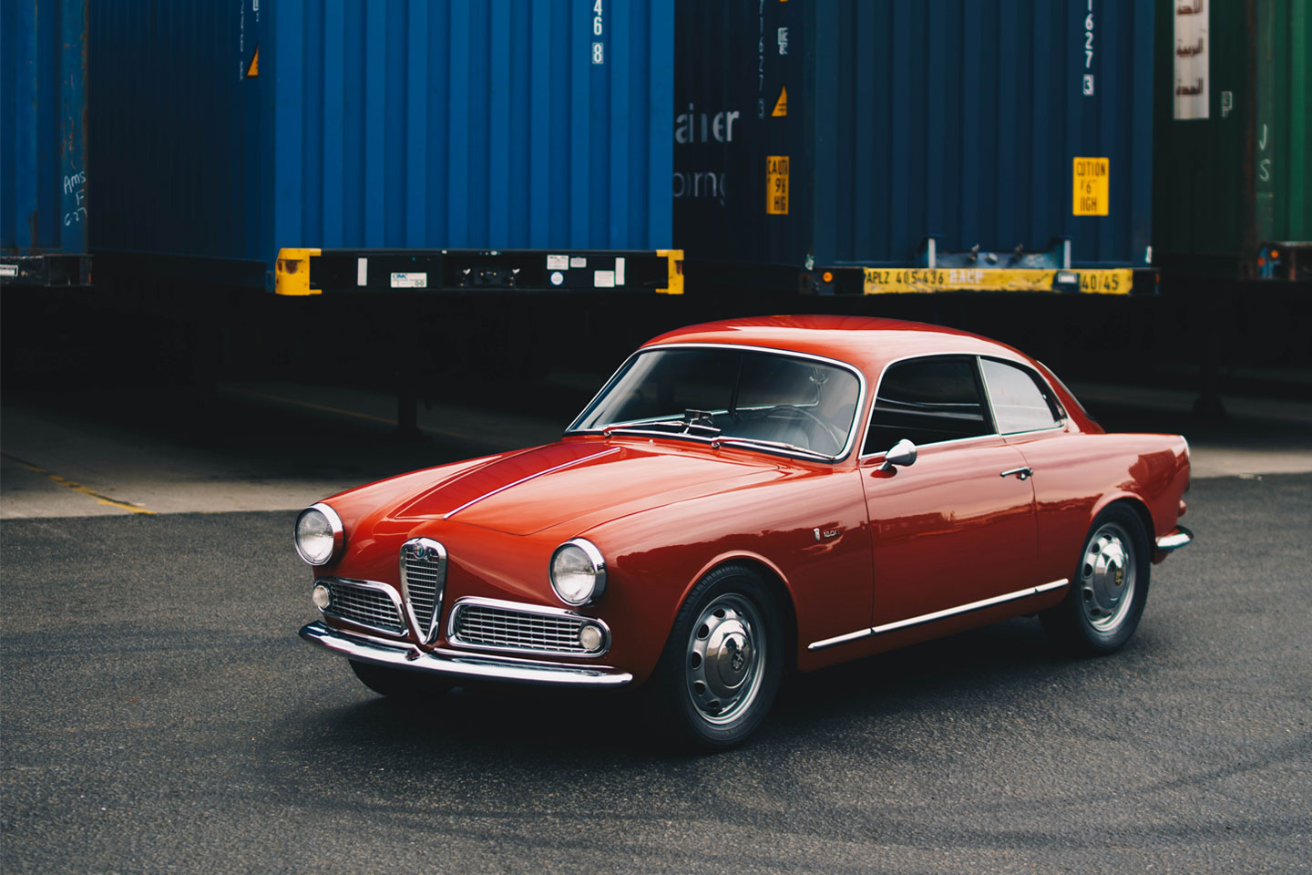 Getting Acquainted With An Alfa Romeo Giulia Sprint