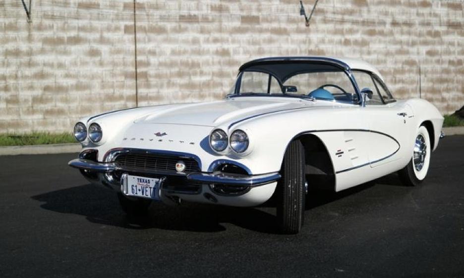 Nach 56 Jahren fand diese C1 Corvette in Deutschland ein neues Zuhause